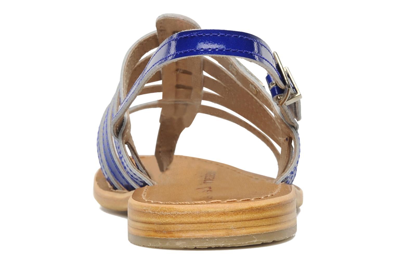 Sandalen Les Tropéziennes par M Belarbi Herflash Blauw rechts