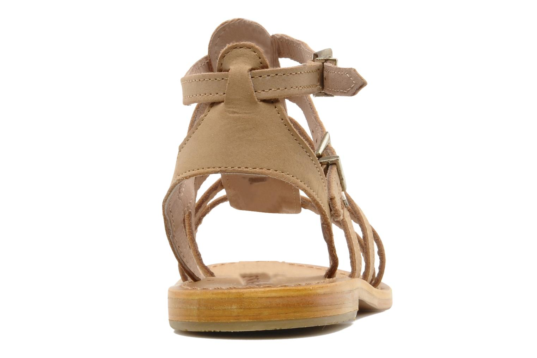 Sandalen Les Tropéziennes par M Belarbi Hortense beige ansicht von rechts
