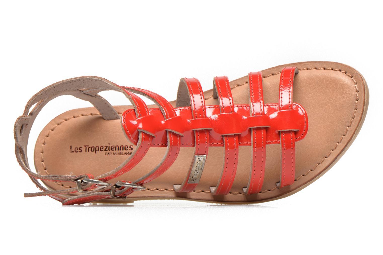 Sandalias Les Tropéziennes par M Belarbi Hic E Rojo vista lateral izquierda