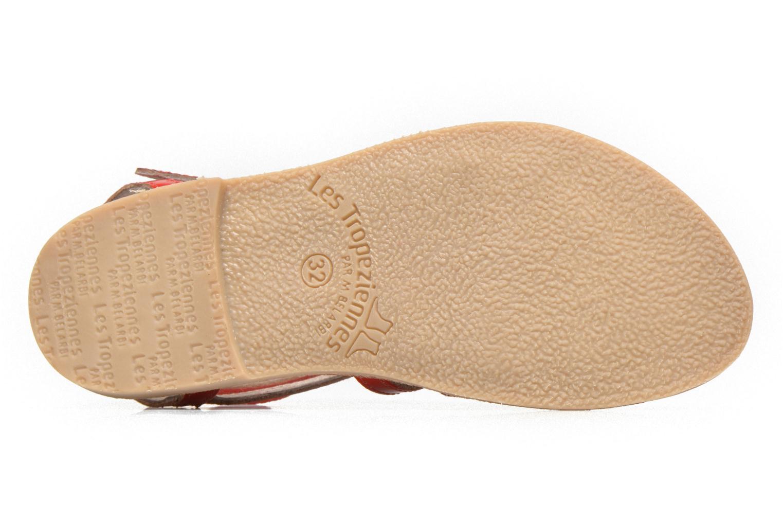 Sandals Les Tropéziennes par M Belarbi Hic E Red view from above