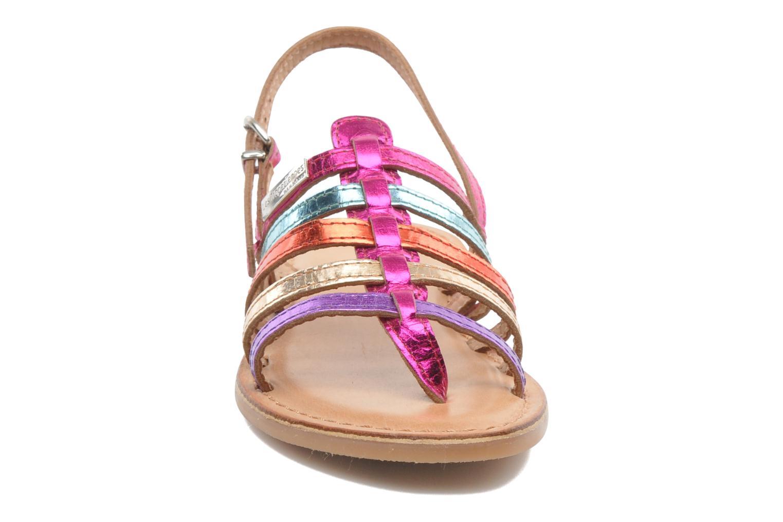Sandales et nu-pieds Les Tropéziennes par M Belarbi Herisson E Multicolore vue portées chaussures
