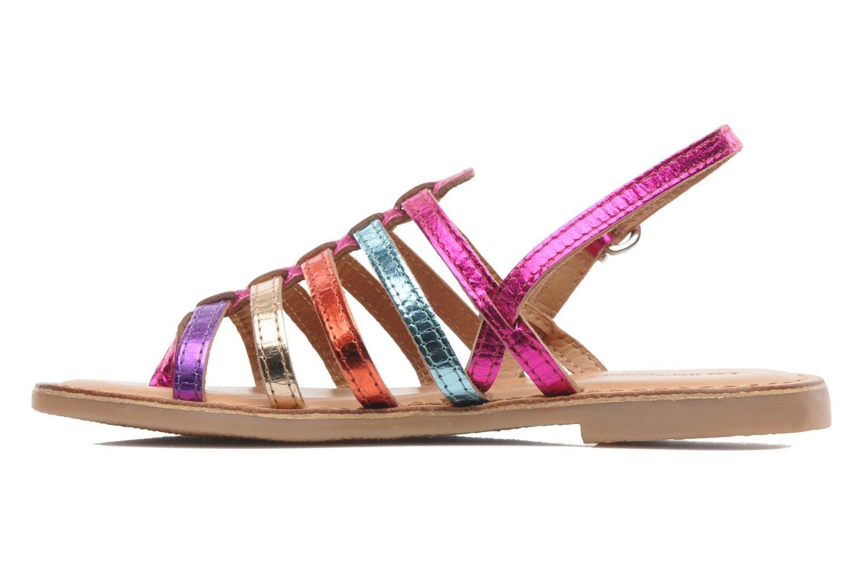 Sandales et nu-pieds Les Tropéziennes par M Belarbi Herisson E Multicolore vue face