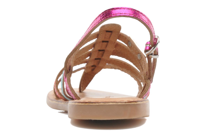 Sandales et nu-pieds Les Tropéziennes par M Belarbi Herisson E Multicolore vue droite