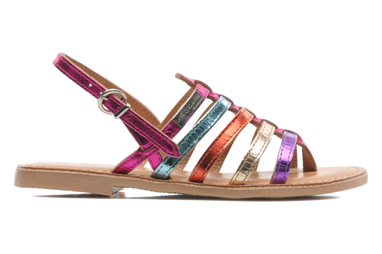 Sandales et nu-pieds Les Tropéziennes par M Belarbi Herisson E Multicolore vue derrière