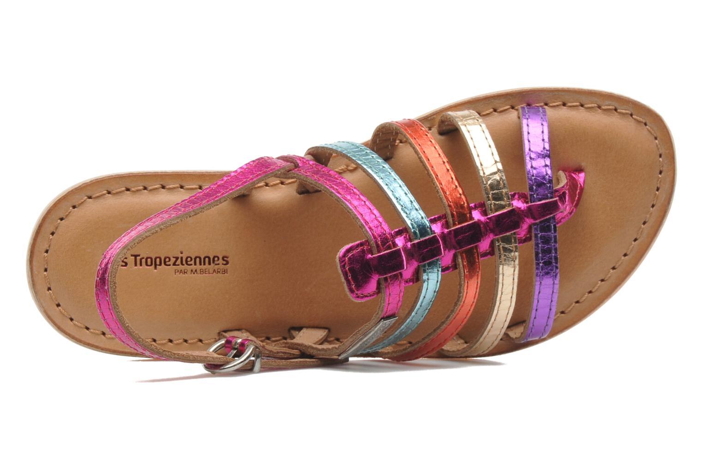Sandales et nu-pieds Les Tropéziennes par M Belarbi Herisson E Multicolore vue gauche