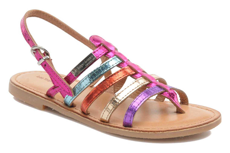 Sandales et nu-pieds Les Tropéziennes par M Belarbi Herisson E Multicolore vue détail/paire