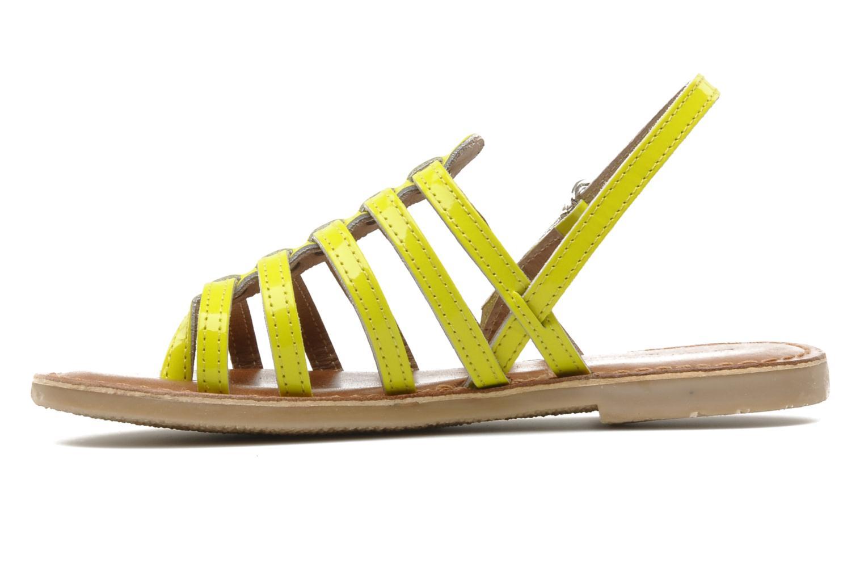 Sandales et nu-pieds Les Tropéziennes par M Belarbi Herflash E Jaune vue face