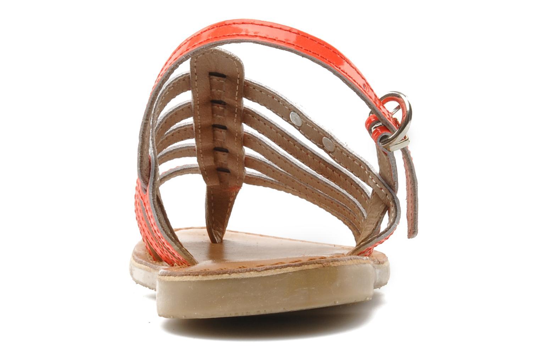Sandales et nu-pieds Les Tropéziennes par M Belarbi Herflash E Rose vue droite