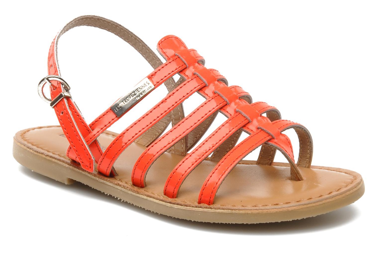 Sandales et nu-pieds Les Tropéziennes par M Belarbi Herflash E Rose vue détail/paire