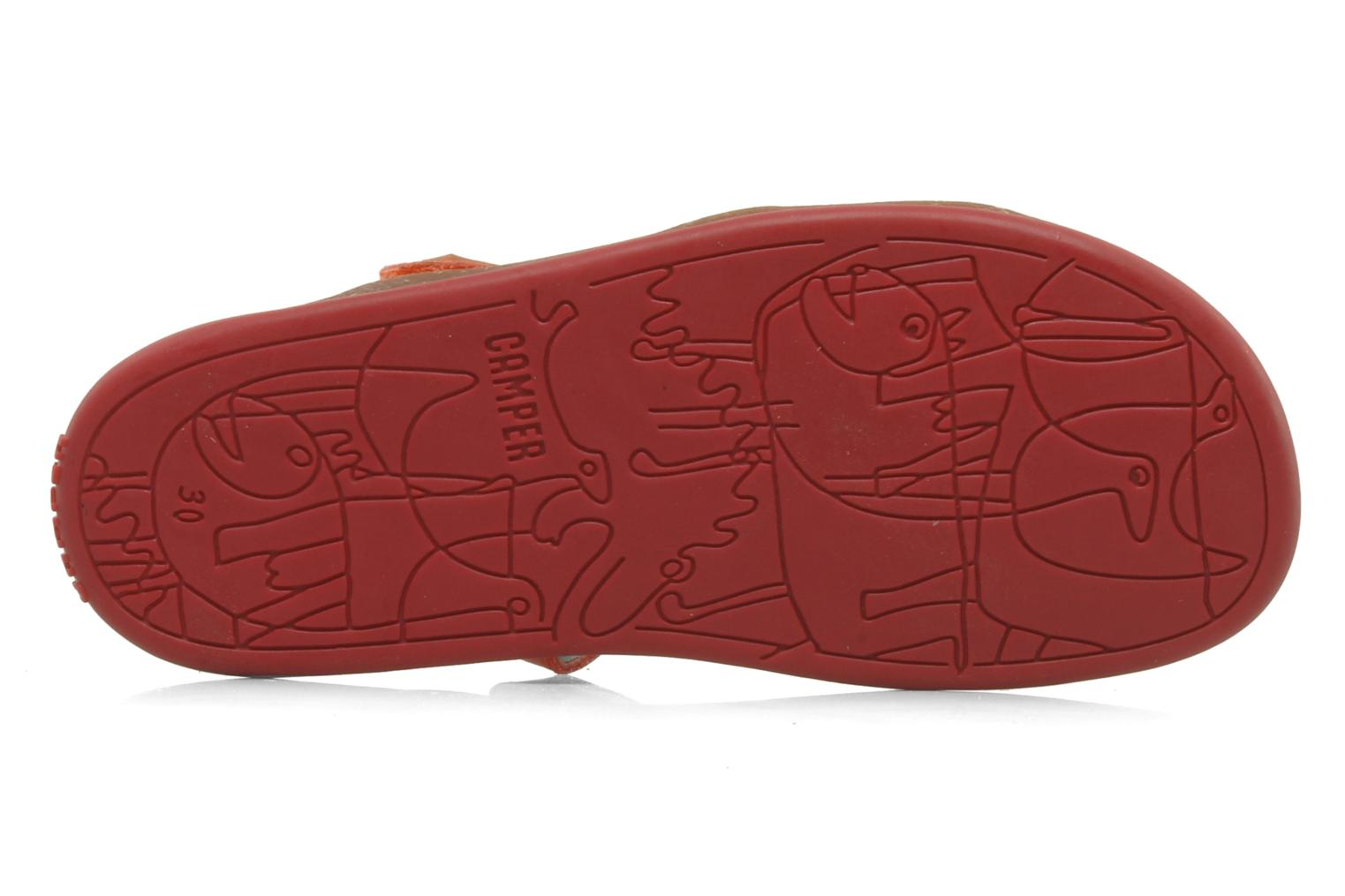 Sandals Camper Bicho Kids 80303 Pink view from above