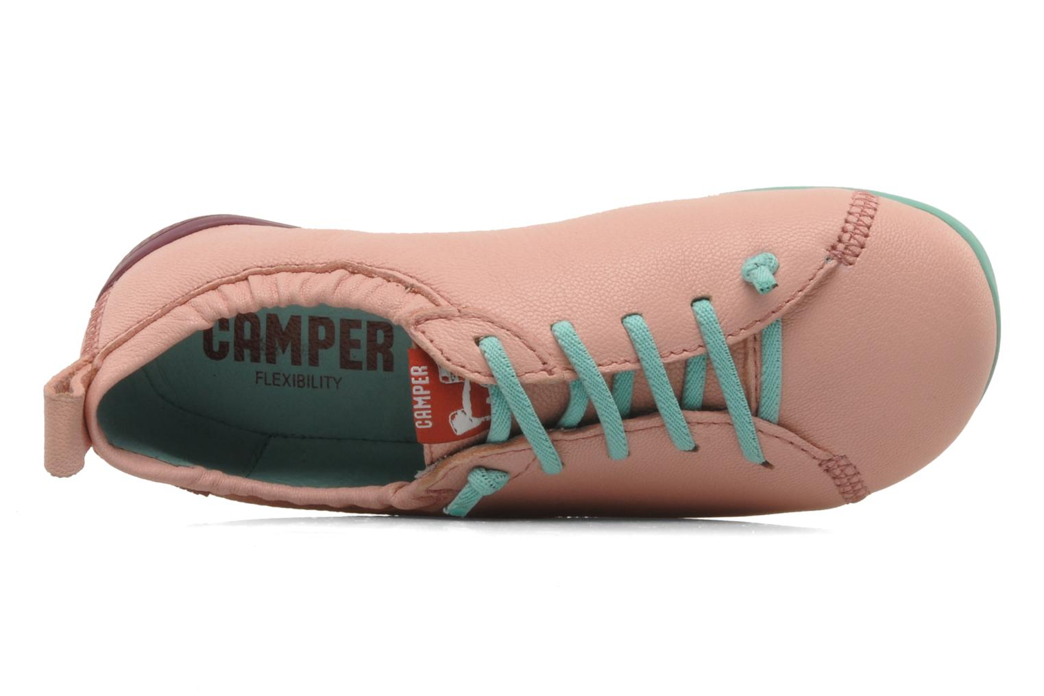 Trainers Camper Peu Circuit 80243 Pink view from the left
