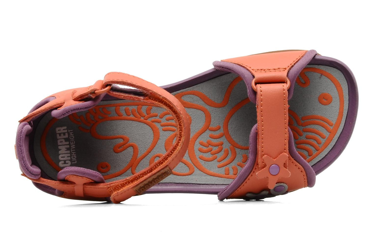 Sandals Camper Ous Kids 80312 Pink view from the left