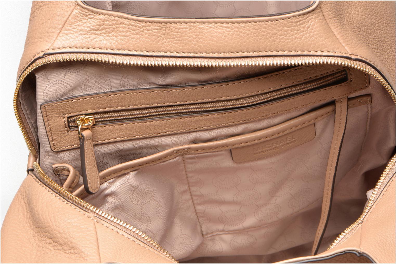 Handtaschen Michael Michael Kors BEDFORD LG Shldr tote beige ansicht von hinten