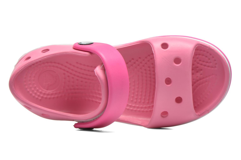 Sandalen Crocs Crocband Sandal Kids Roze links