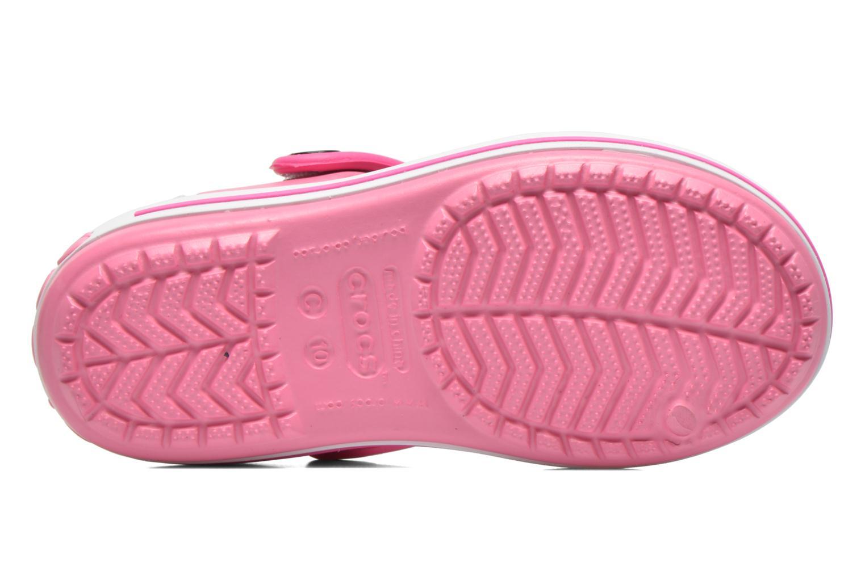 Crocband Sandal Kids Pink Lemonade/Neon Magenta