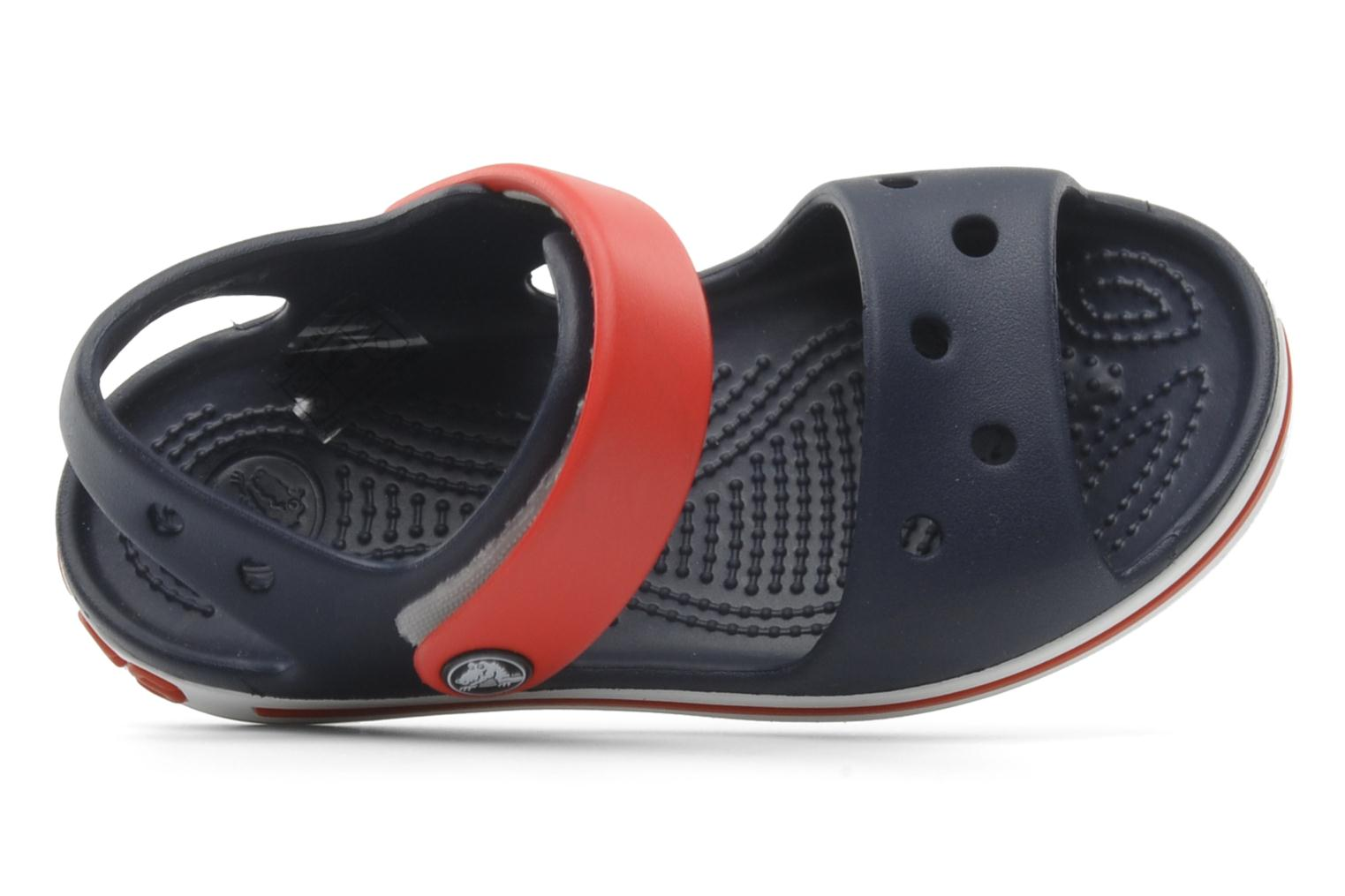 Crocband Sandal Kids Navy Red 2