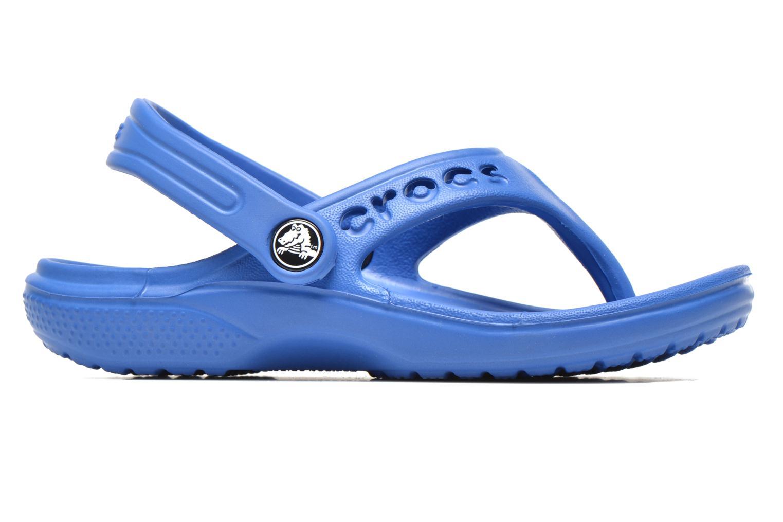Tongs Crocs Baya Summer Flip Kids Bleu vue derrière