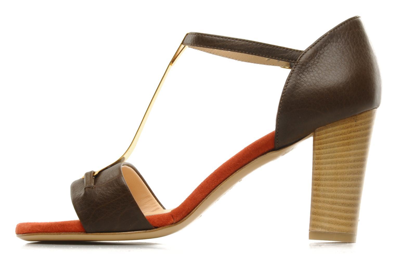 Sandali e scarpe aperte Atelier Mercadal Sandale Lee Marrone immagine frontale