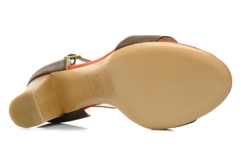 Sandali e scarpe aperte Atelier Mercadal Sandale Lee Marrone immagine dall'alto