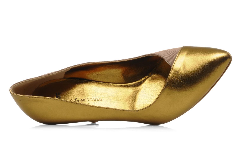 Høje hæle Atelier Mercadal Escarpin Vintage Vava Guld og bronze se fra venstre
