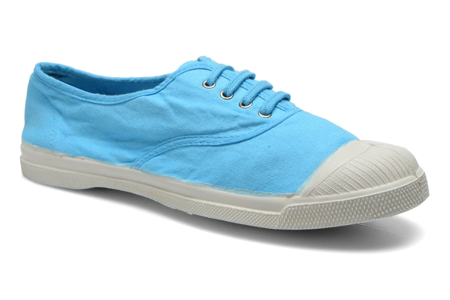 Tennis Lacets Turquoise 2