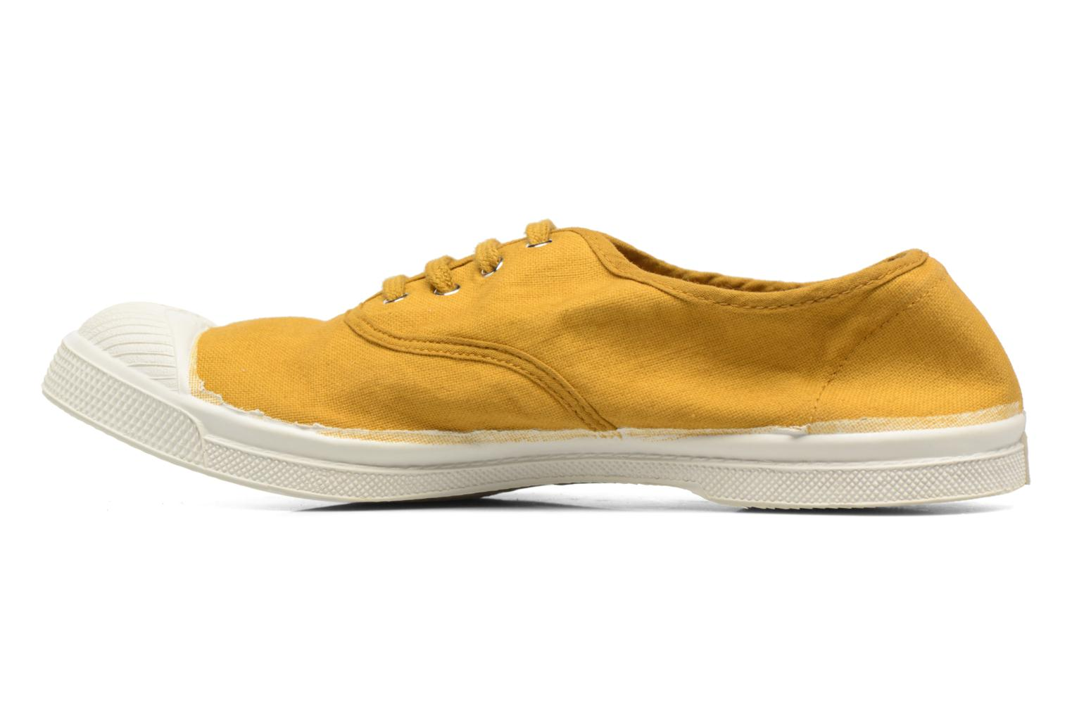 Trainers Bensimon Tennis Lacets Yellow front view