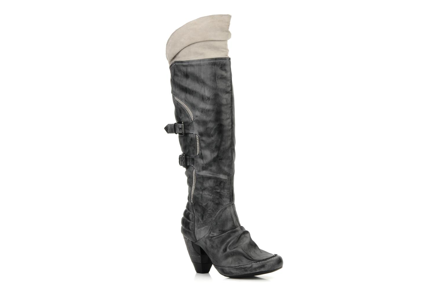 Bottes Mustang shoes Maga Gris vue 3/4