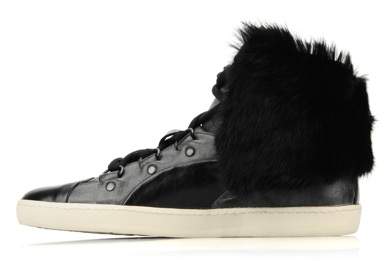 Sneakers Puma by Alexander Mc Queen W's amq bound mid Zwart voorkant