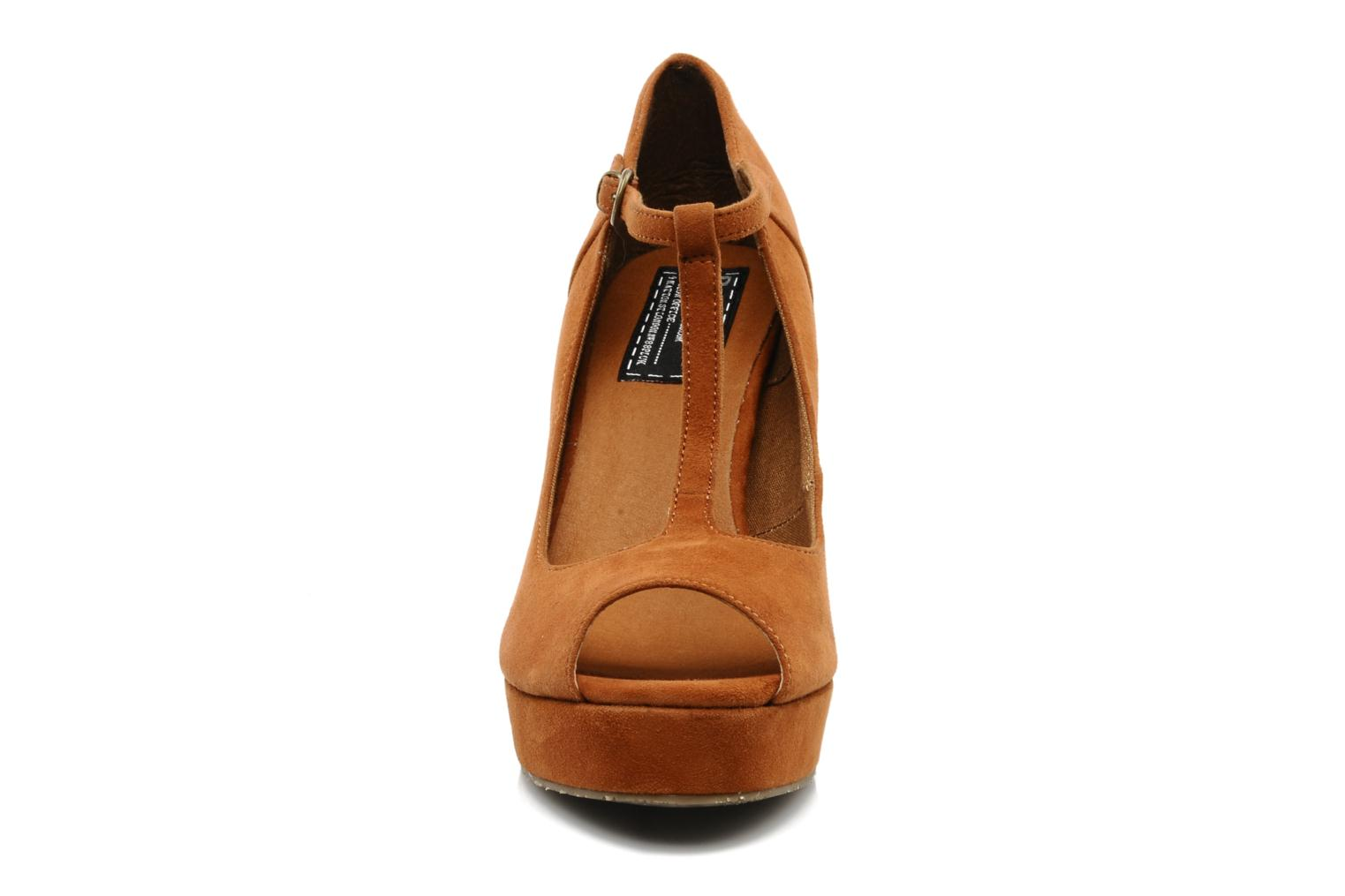 Sandals Bertie Camilo Brown model view