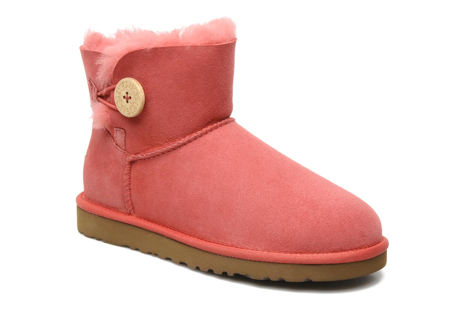Ugg Mini Bailey Button Rosa