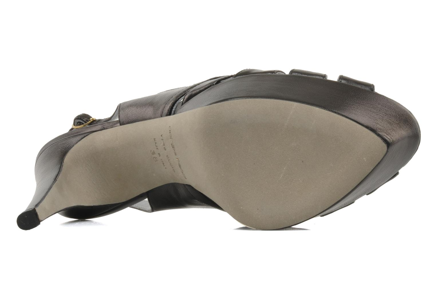 Sandals Sergio Rossi Satriano Black view from above