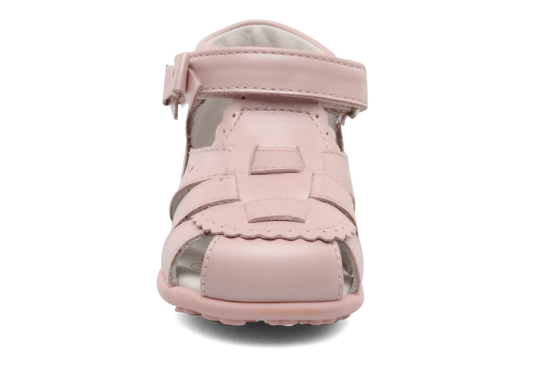 Sandales et nu-pieds Chicco GIARA Rose vue portées chaussures