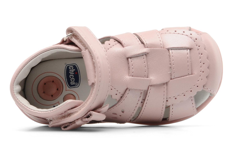 Sandales et nu-pieds Chicco GIARA Rose vue gauche