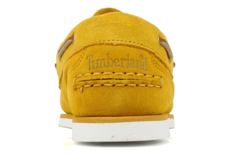 Chaussures de sport Timberland Amherst Jaune vue droite