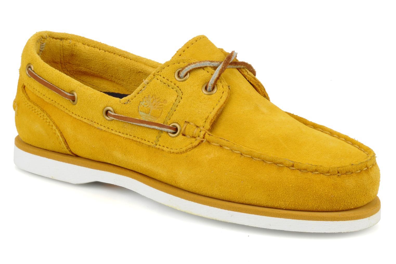 Chaussures de sport Timberland Amherst Jaune vue détail/paire