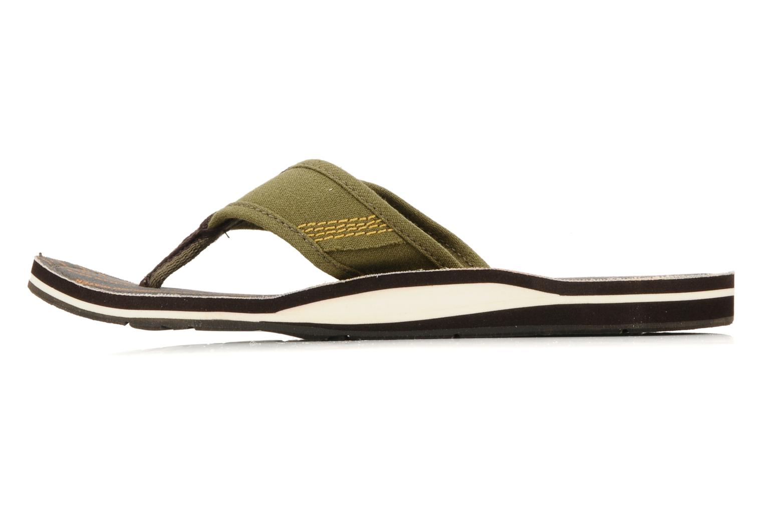 Flip flops Timberland Earthkeppers sandal Grqphic Flip Flop Green front view