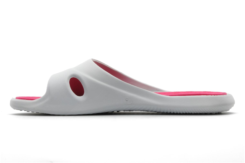 Wedges Rider Slide feet II f Wit voorkant