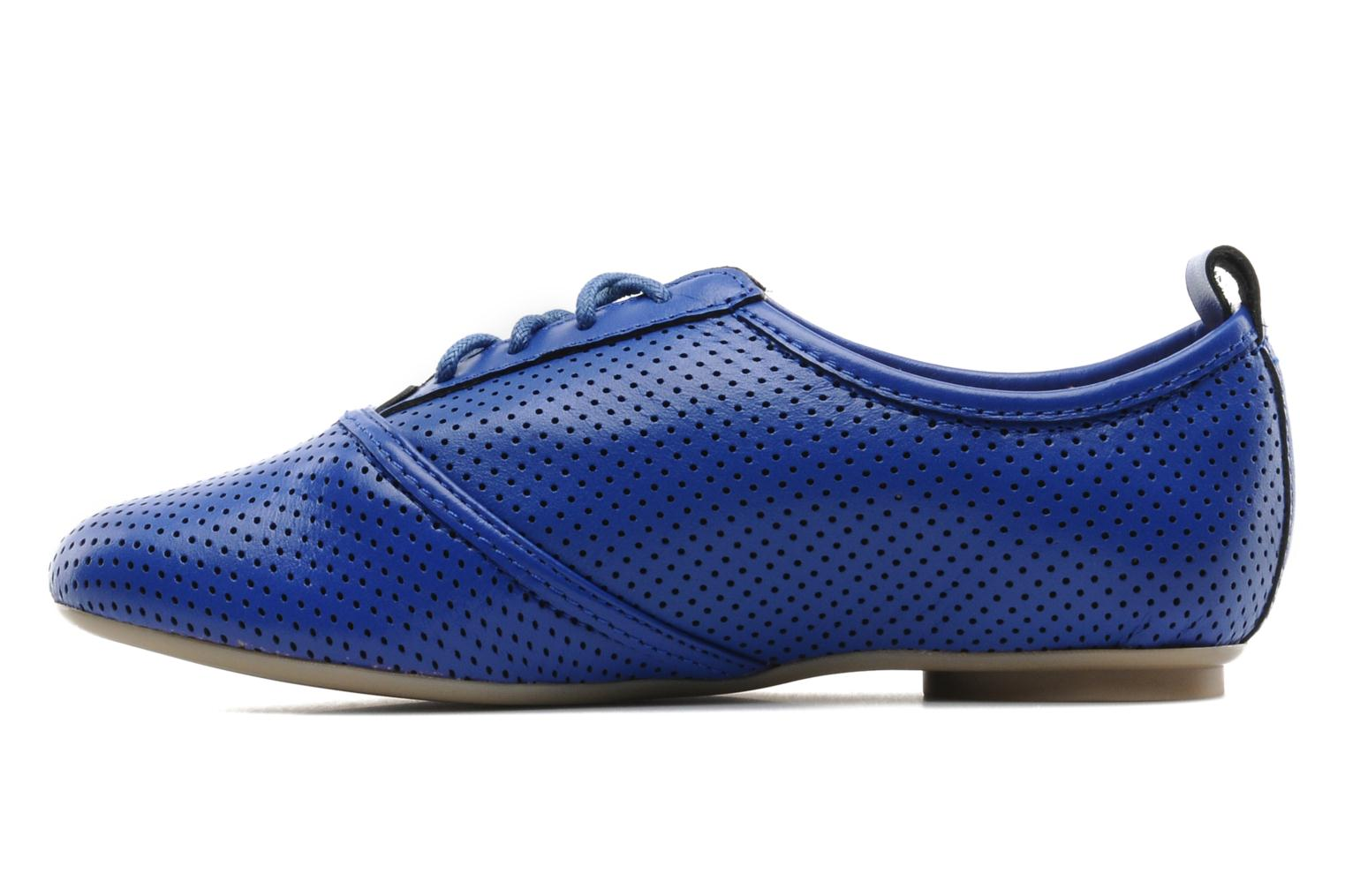 Lace-up shoes Mellow Yellow Lilas Blue front view