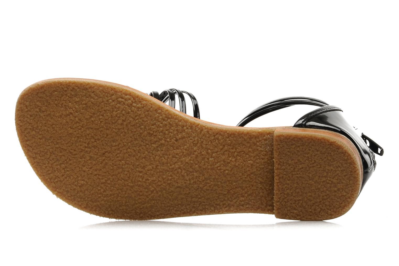 Sandales et nu-pieds Mellow Yellow Lolipop Noir vue haut