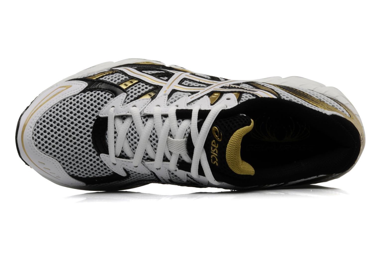 Chaussures de sport Asics Gel Virage 6 Blanc vue gauche