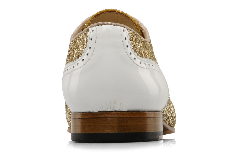 Chaussures à lacets Georgia Rose Pantika Or et bronze vue droite