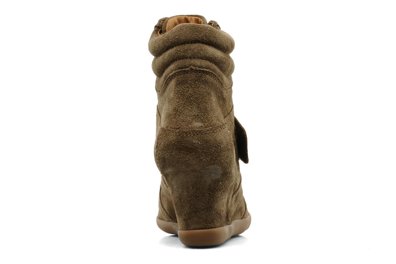 Bottines et boots Addict-Initial Alida Marron vue droite