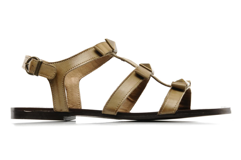 Sandales et nu-pieds Addict-Initial Adene Beige vue derrière