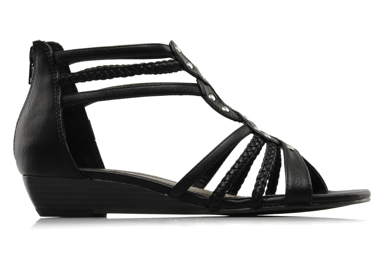 Sandales et nu-pieds I Love Shoes Supla Noir vue derrière