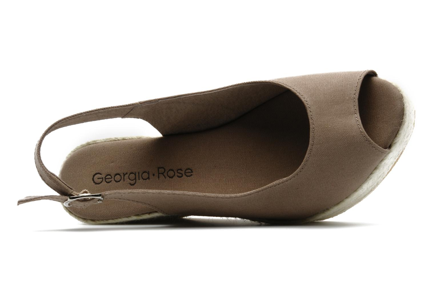 Sandals Georgia Rose Iluso Brown view from the left