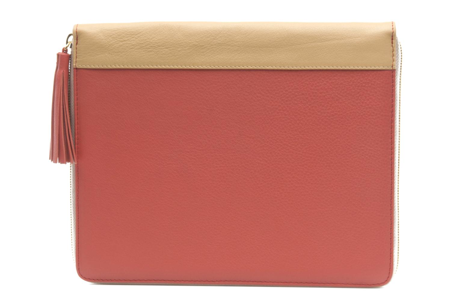 Petite Maroquinerie MySuelly LOU PAD (IPAD) Rose vue face