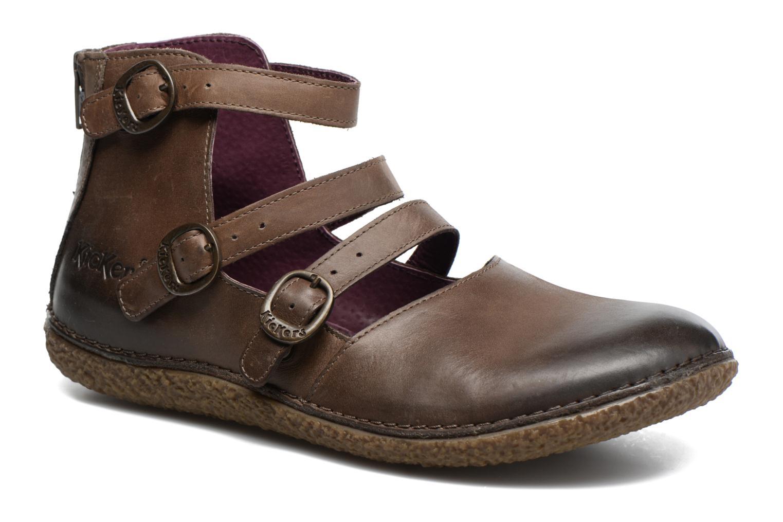 Zapatos promocionales Kickers HONORINE (Marrón) - Bailarinas   Casual salvaje