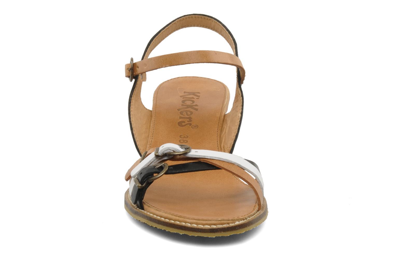 Sandales et nu-pieds Kickers SPRING 2 Noir vue portées chaussures
