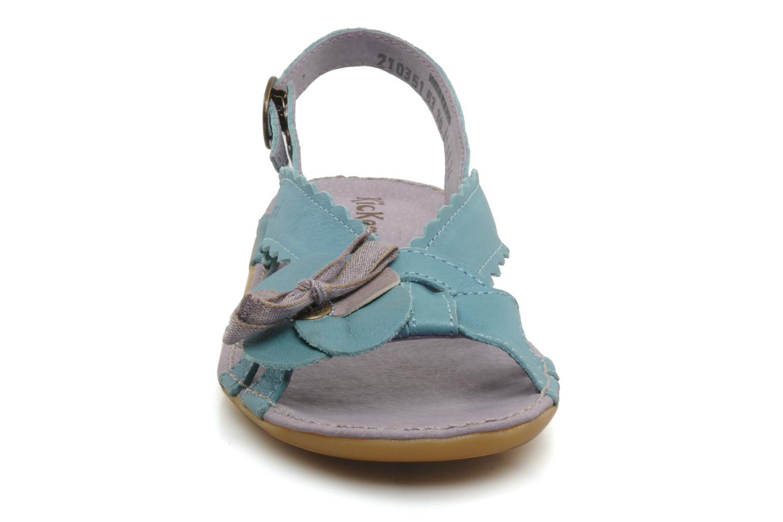 Sandalen Kickers EXTRAFIN Blauw model