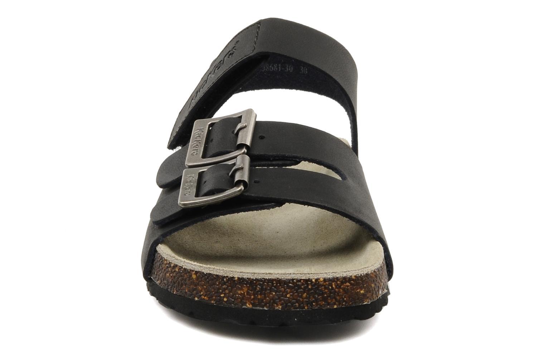 Sandales et nu-pieds Kickers MAGINATION Noir vue portées chaussures